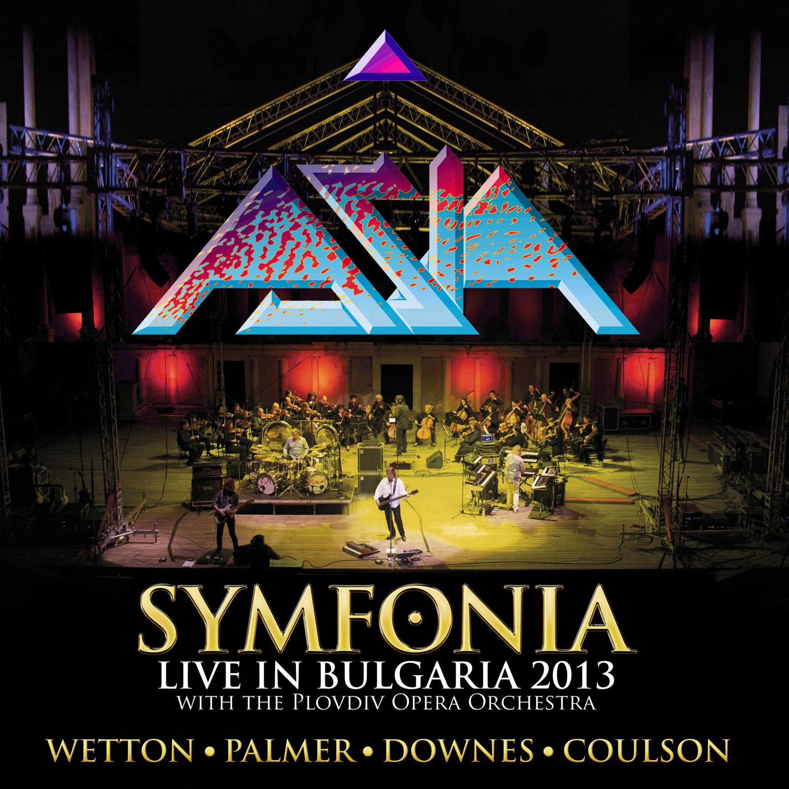 CD review ASIA &quot&#x3B;Symfonia - Live in Bulgaria&quot&#x3B;