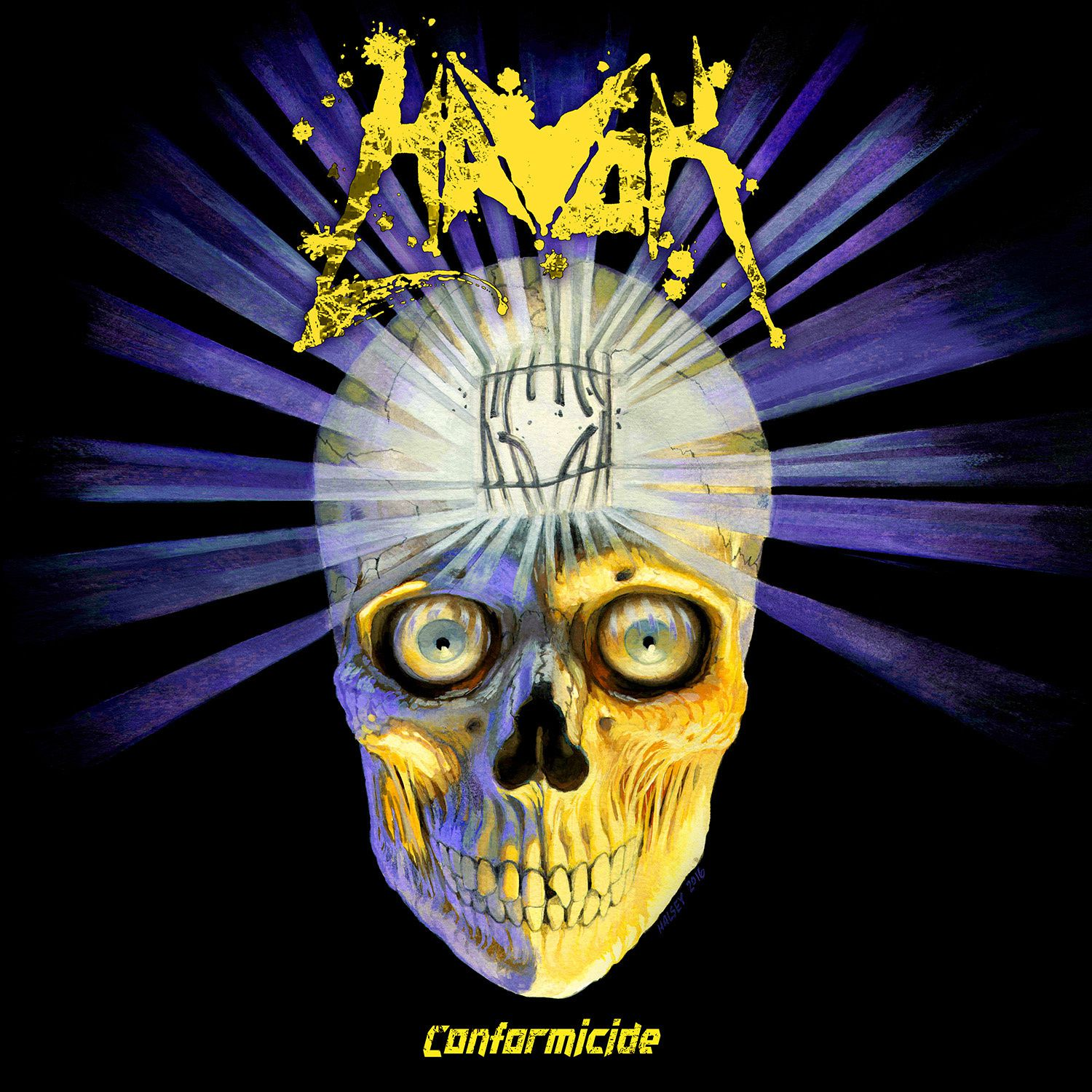 CD review HAVOK &quot&#x3B;Conformicide&quot&#x3B;