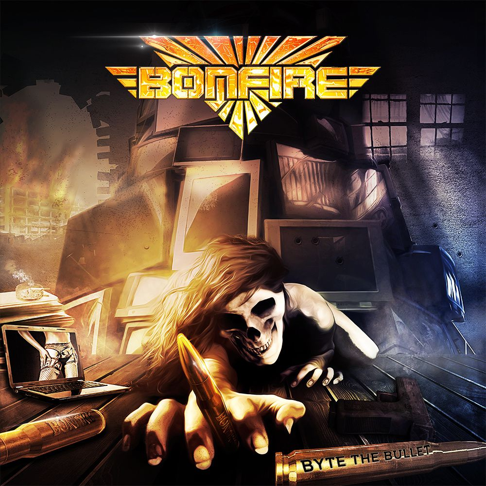 CD review BONFIRE &quot&#x3B;Byte the Bullet&quot&#x3B;