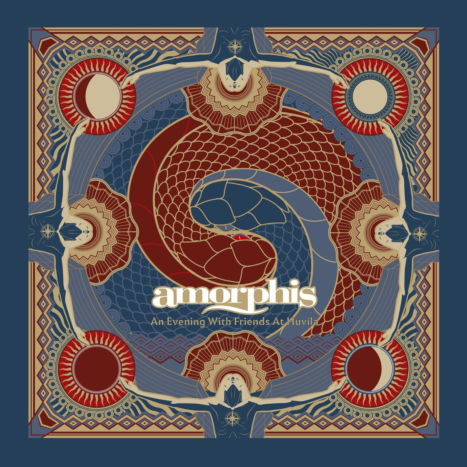CD review AMORPHIS &quot&#x3B;Under the Red Cloud - An Evening With Friends @ Juhlaviiko – Huvila&quot&#x3B;