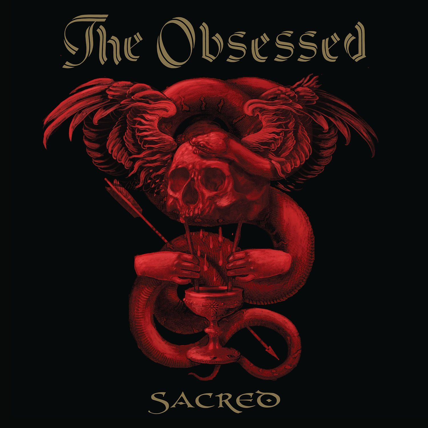 CD review THE OBSESSED &quot&#x3B;Sacred&quot&#x3B;