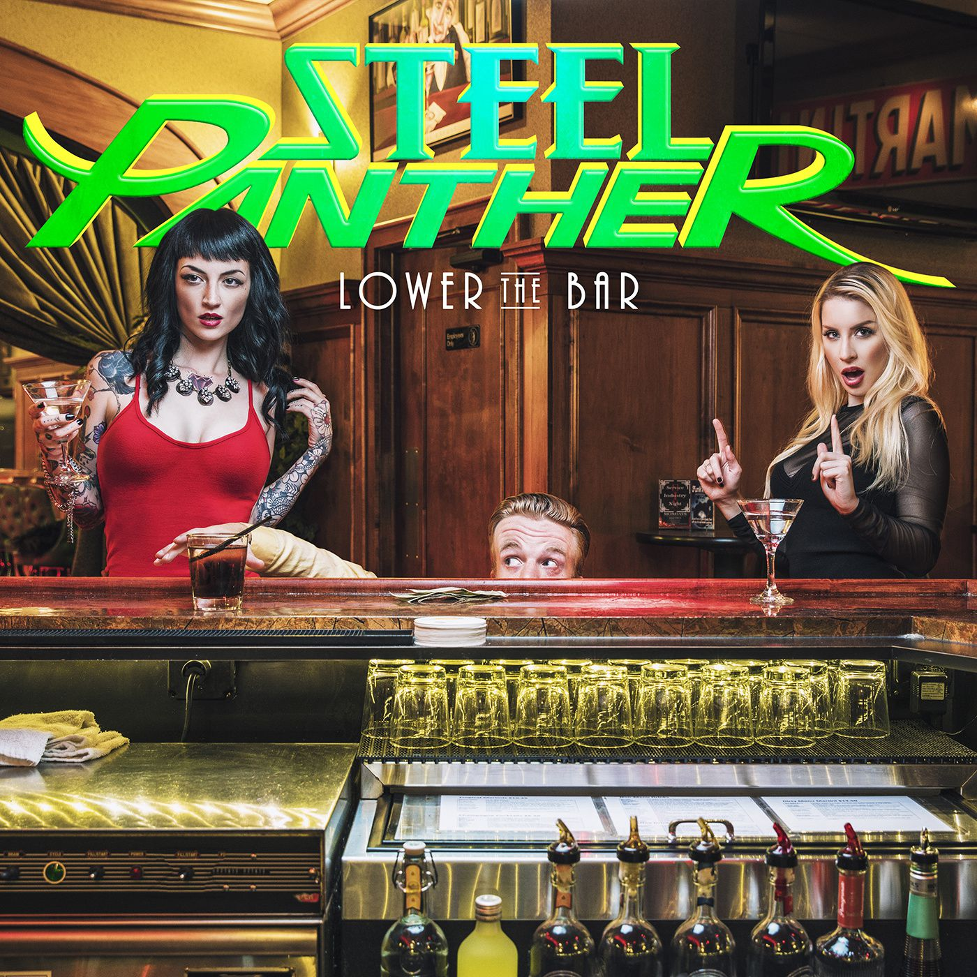 CD review STEEL PANTHER &quot&#x3B;Lower the Bar&quot&#x3B;