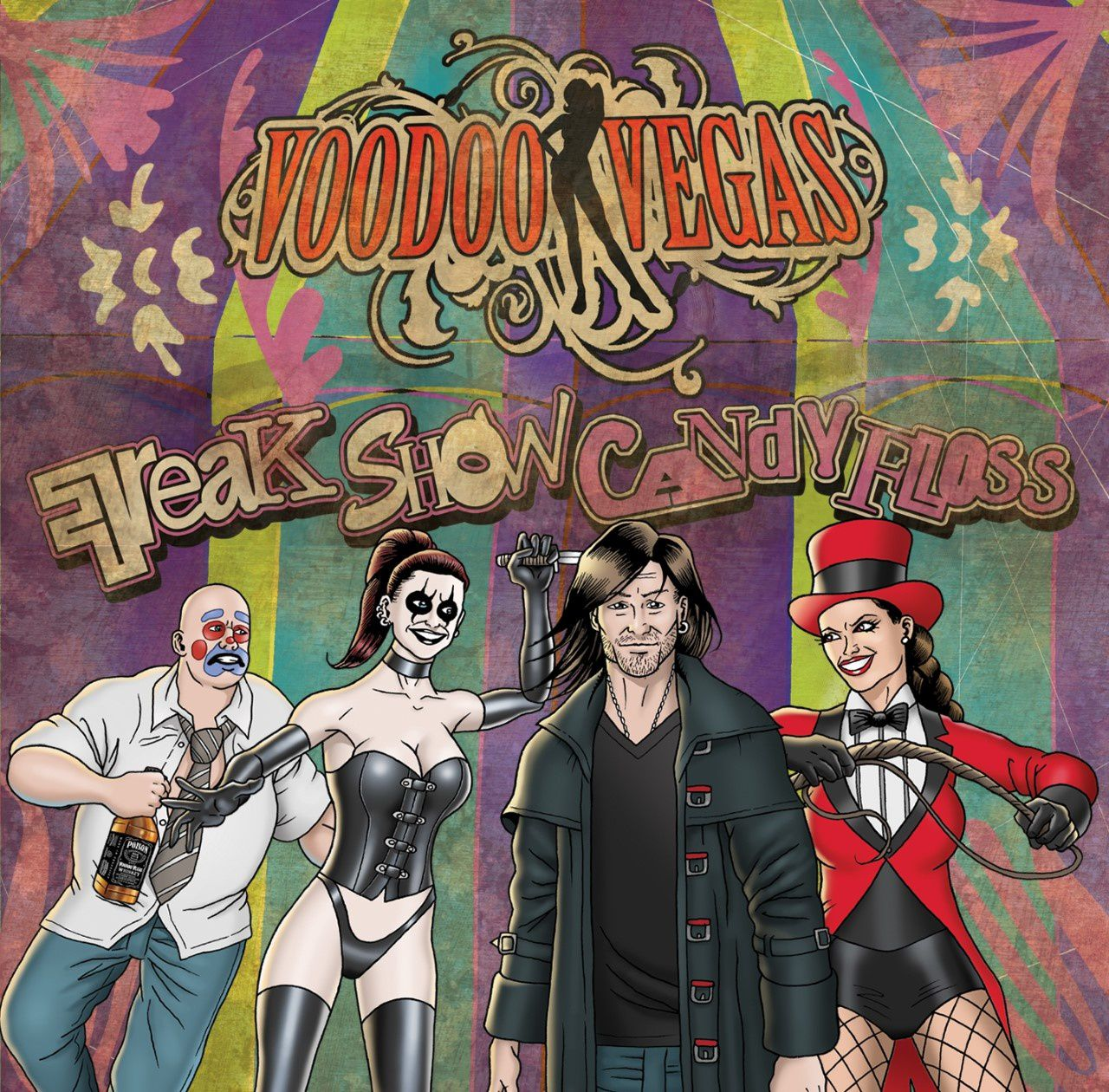 "CD review VOODOO VEGAS ""Freak Show Candy Floss"""