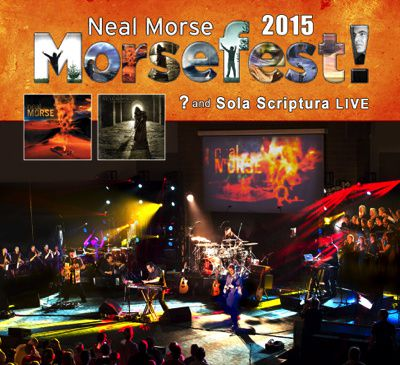 BluRay/DVD review THE NEAL MORSE BAND &quot&#x3B;Morsefest 2015&quot&#x3B;