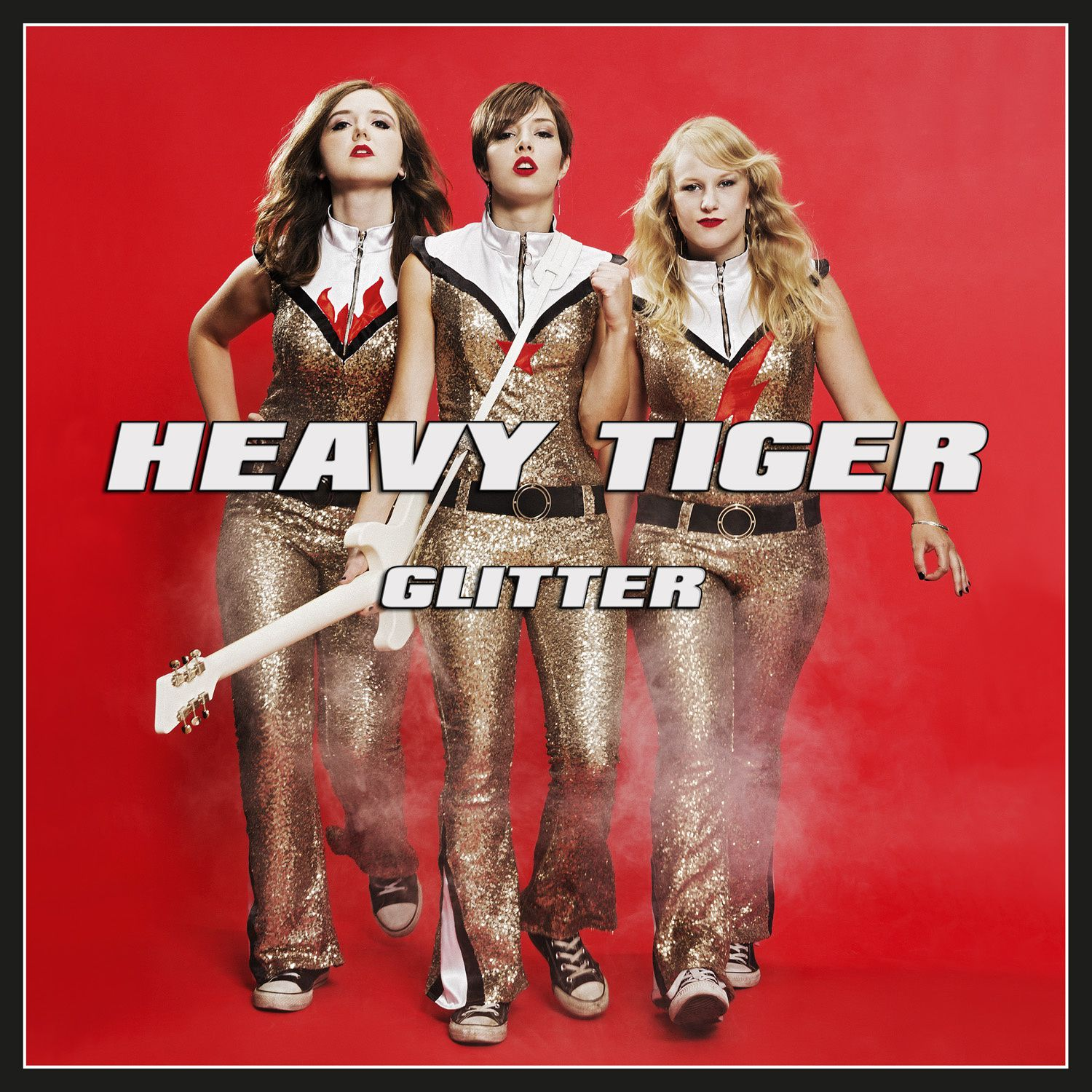 CD review HEAVY TIGER &quot&#x3B;Glitter&quot&#x3B;