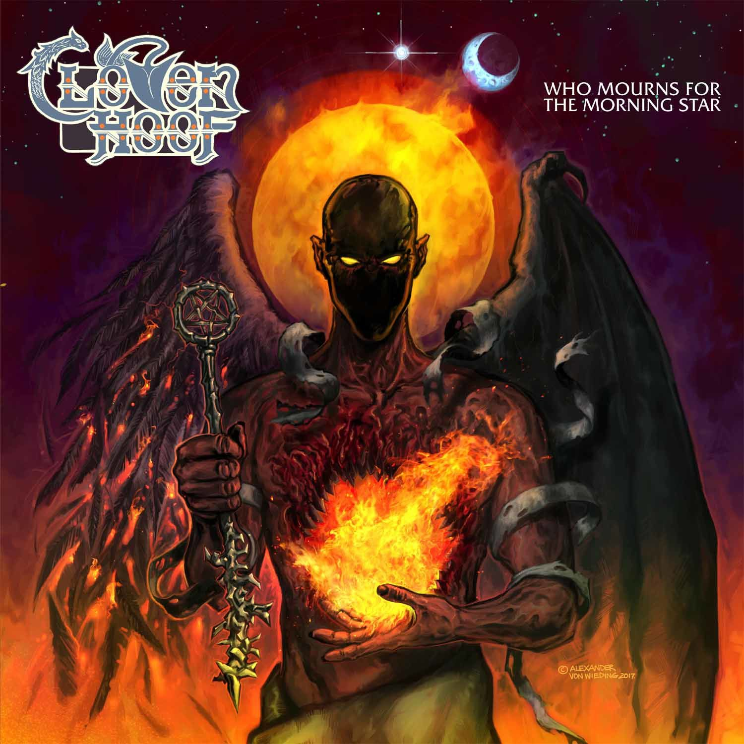 CD review CLOVEN HOOF &quot&#x3B;Who Mourns for the Morning Star&quot&#x3B;
