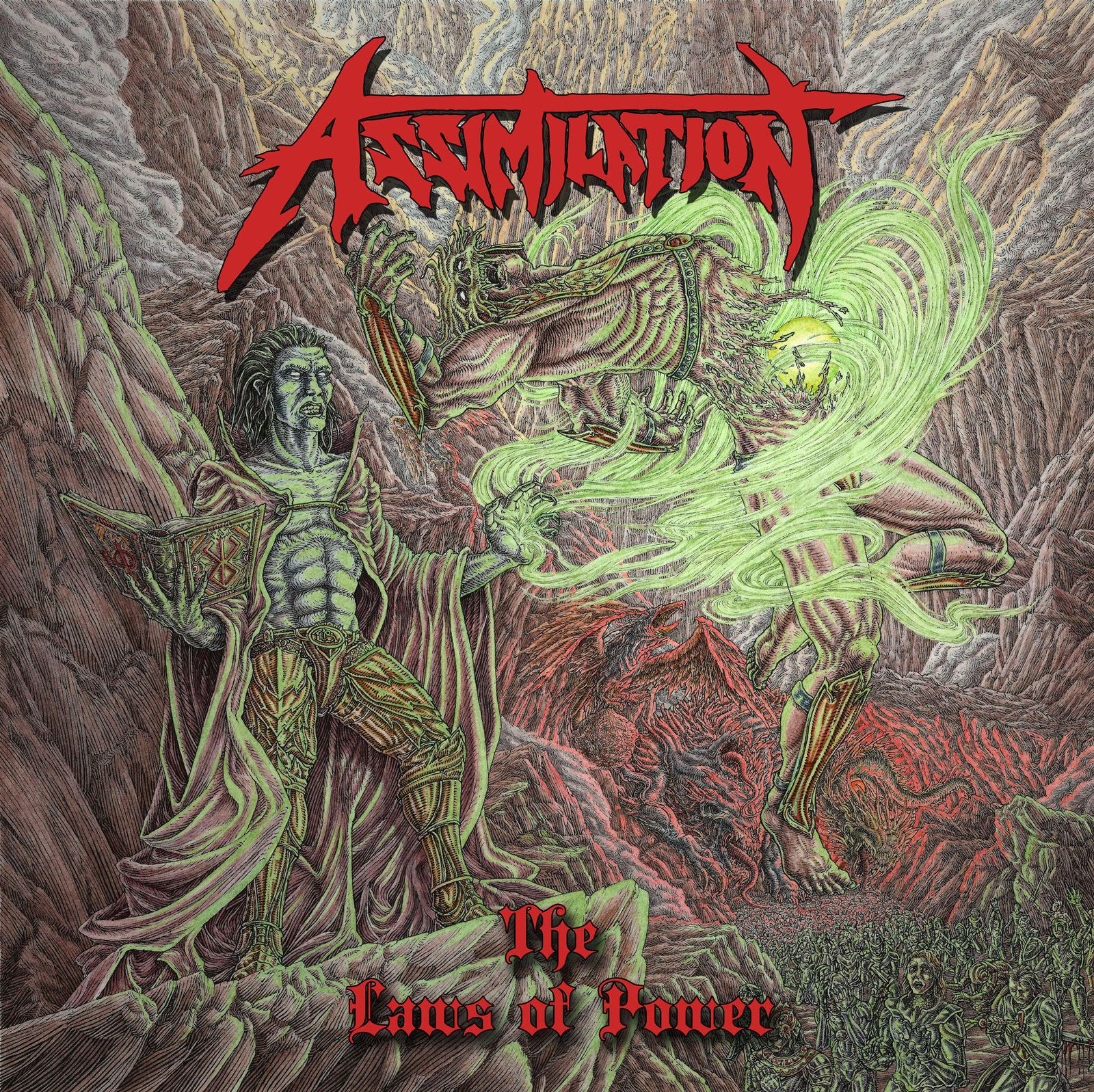 CD review ASSIMILATION &quot&#x3B;The Laws of Power&quot&#x3B;