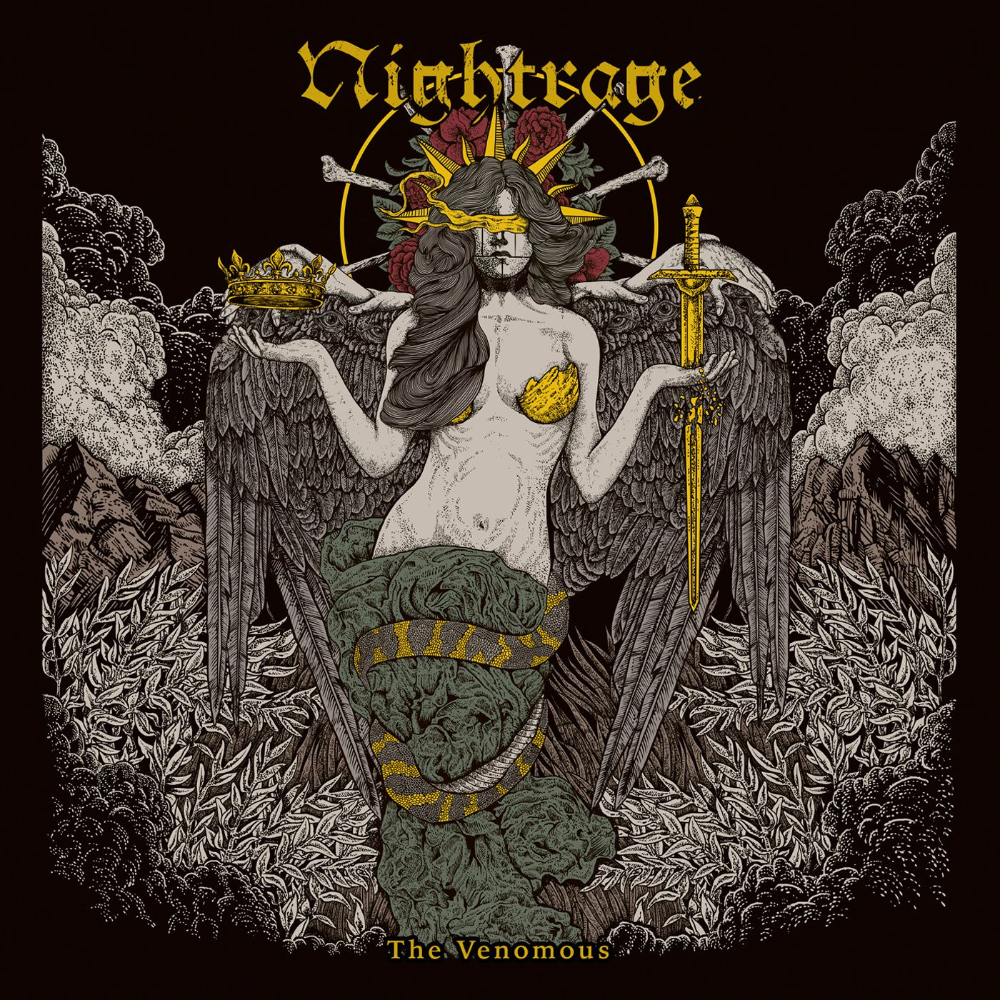 CD review NIGHTRAGE &quot&#x3B;The Venomous&quot&#x3B;