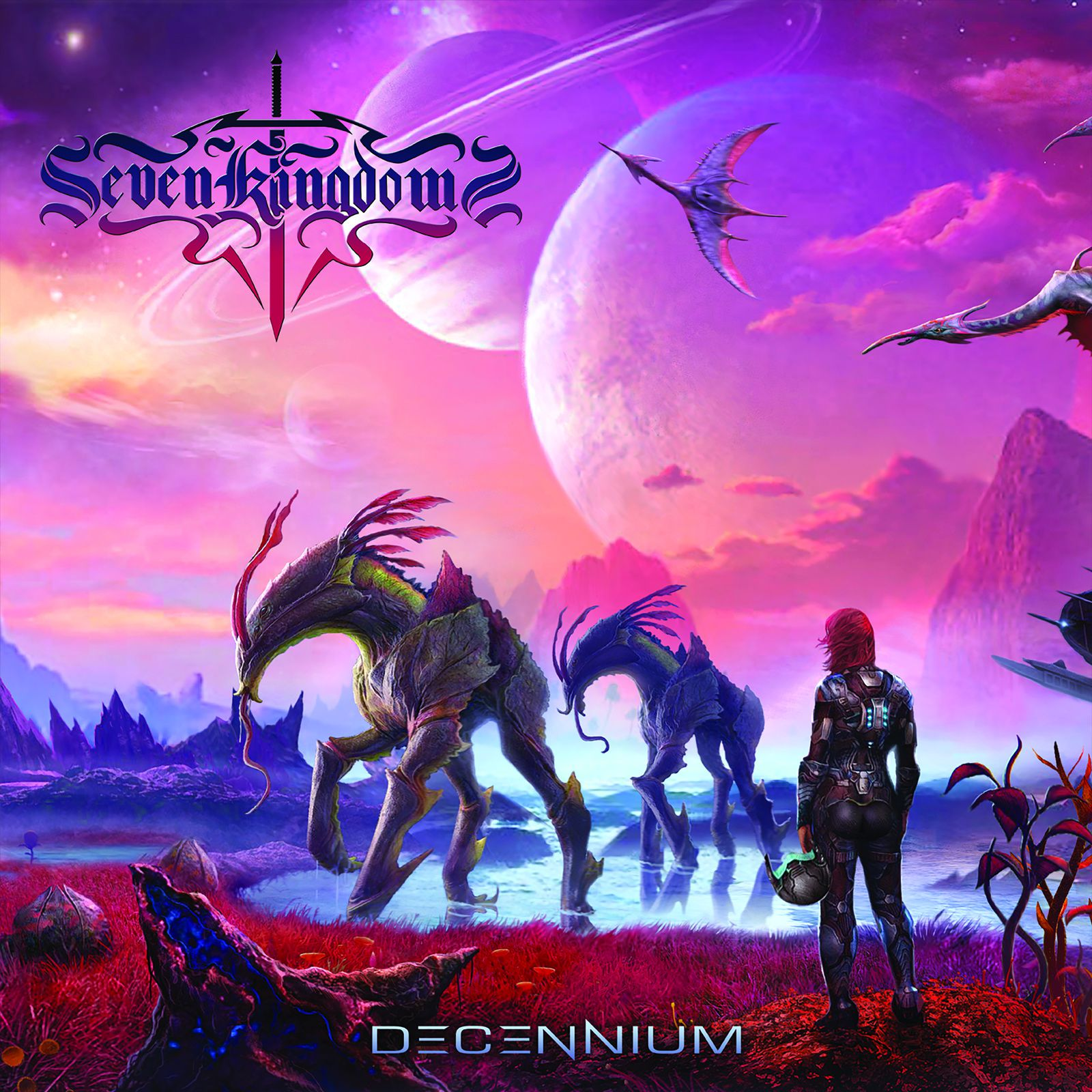 "CD review SEVEN KINGDOMS ""Decennium"""