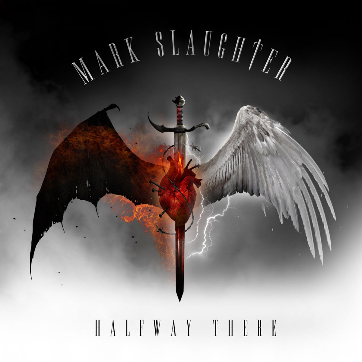 CD review MARK SLAUGHTER &quot&#x3B;Halfway There&quot&#x3B;