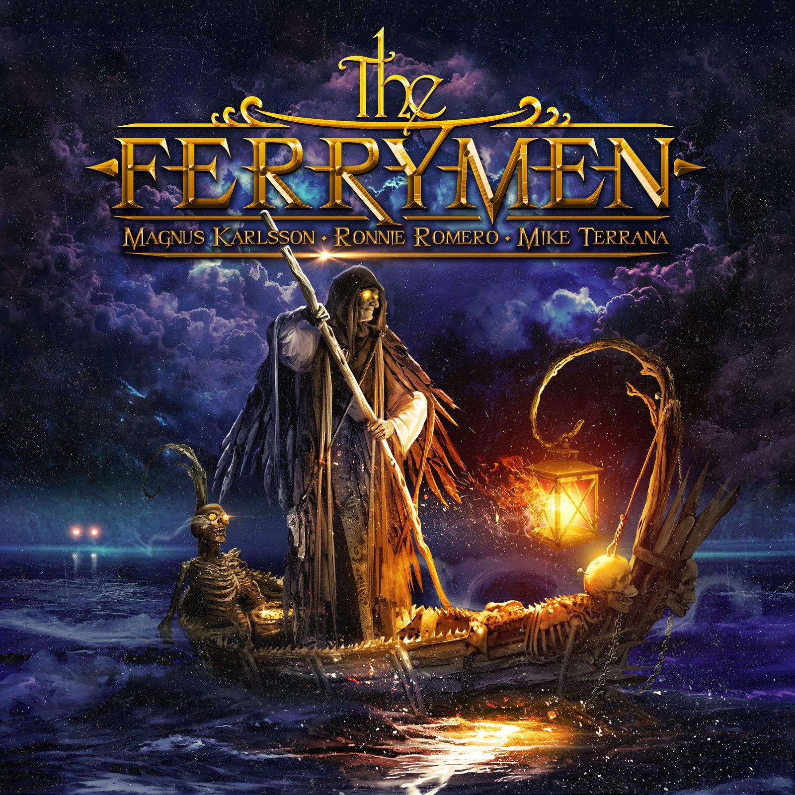 CD review THE FERRYMAN &quot&#x3B;The Ferryman&quot&#x3B;