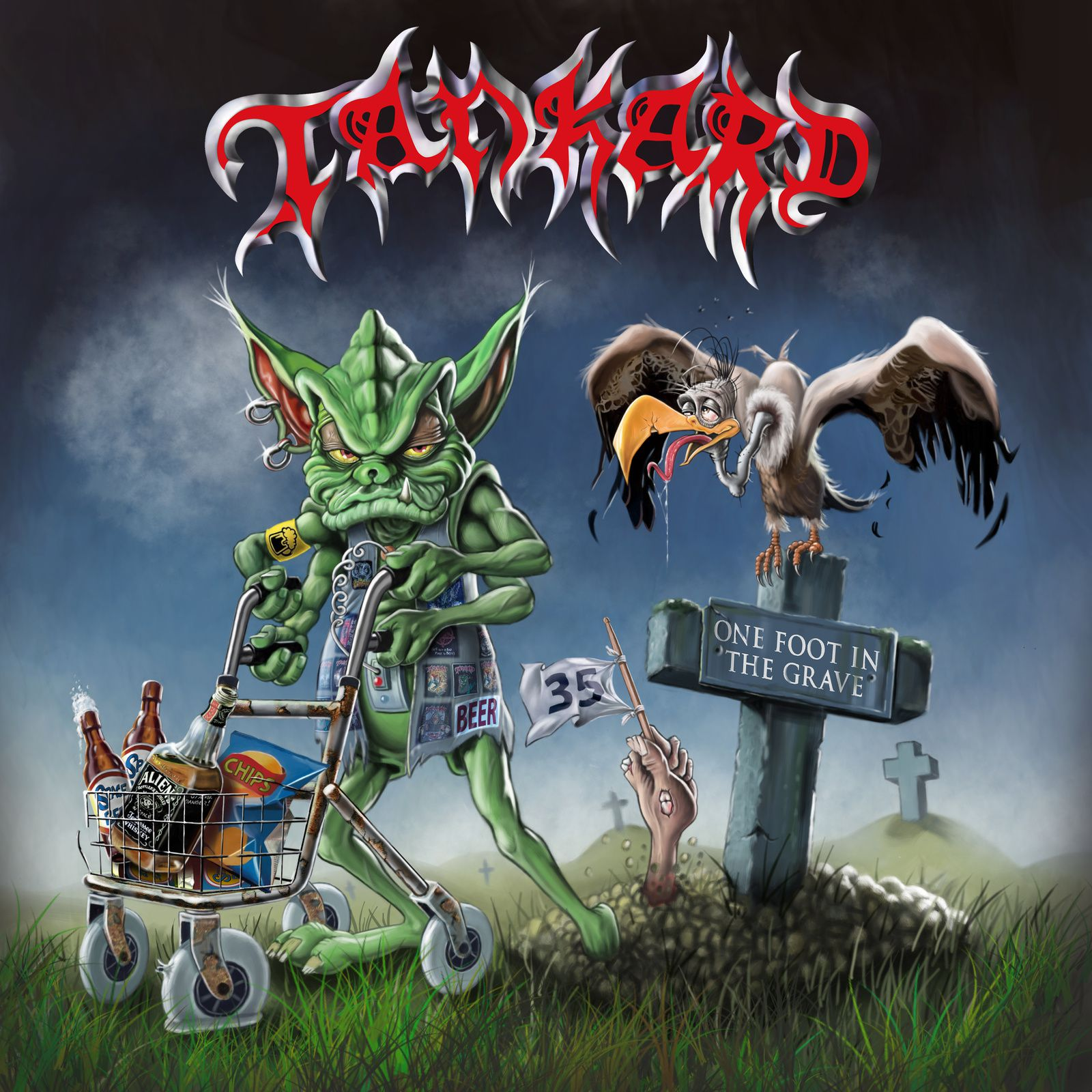 CD review TANKARD &quot&#x3B;One Foot in the Grave&quot&#x3B;