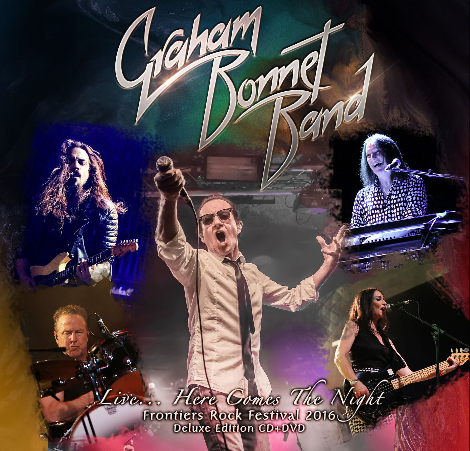 CD review GRAHAM BONNET BAND &quot&#x3B;Live...Here comes the Night&quot&#x3B;