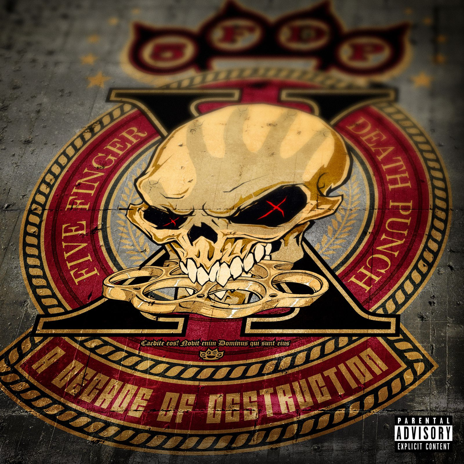 Five Finger Death Punch The Way Of The Fist Album Cover CD review FIVE FINGER ...