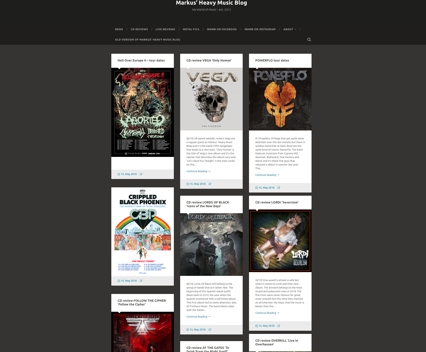 power metal - Markus' Heavy Music Blog