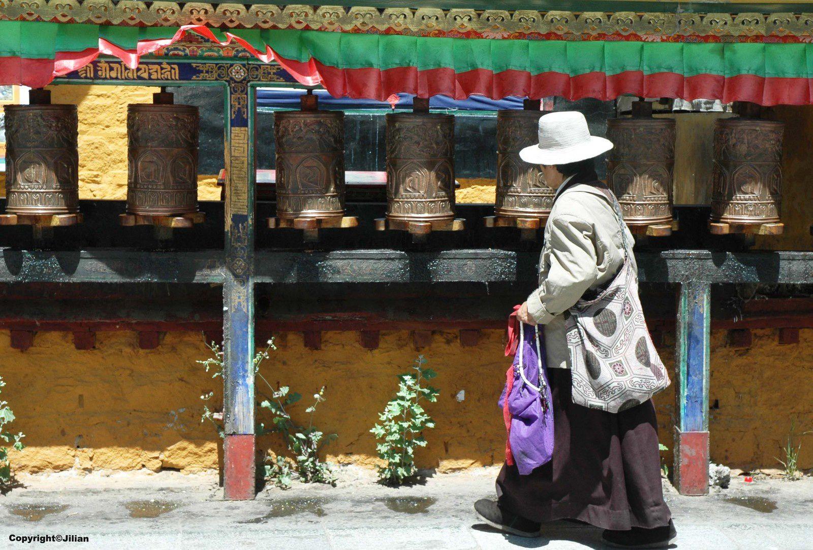 Près du Potala, à Lhassa