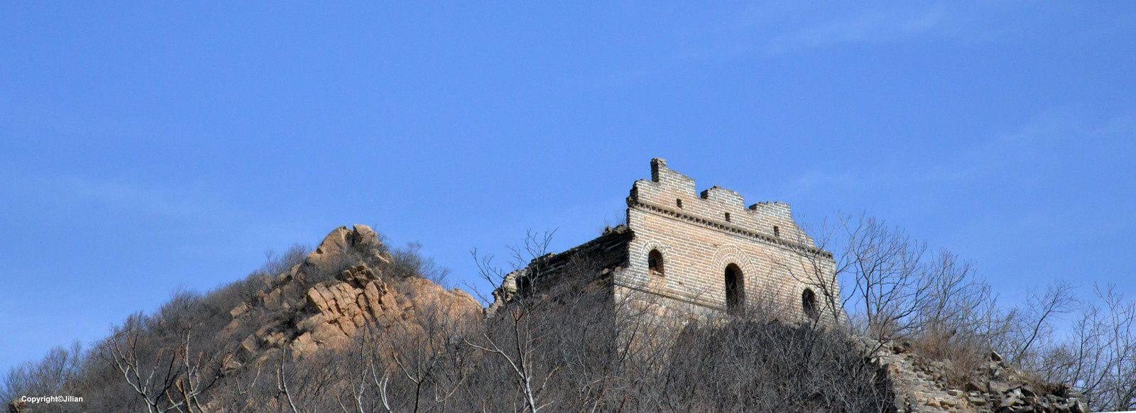 La Grande Muraille à Xiao Xihu - 小西湖长城