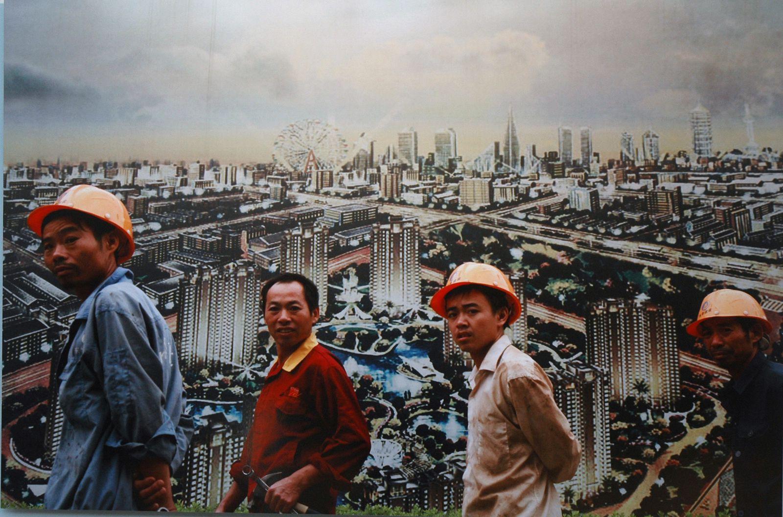 """Landscape wall"" de Ni Weihua"