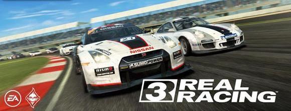 لعبة سيارات للتابلت real racing لعبة السباق الشهيره للاندرويد
