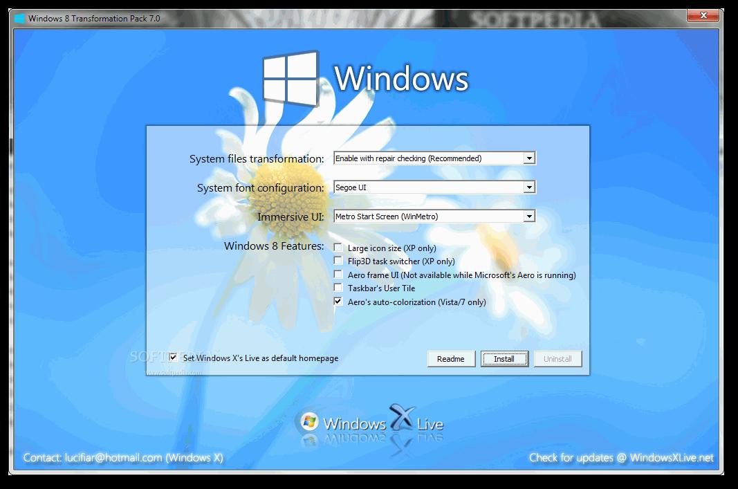 تحكم في مظهر ويندوز 8 مع برنامج Ultimate Windows Tweaker 3.0 مجانا