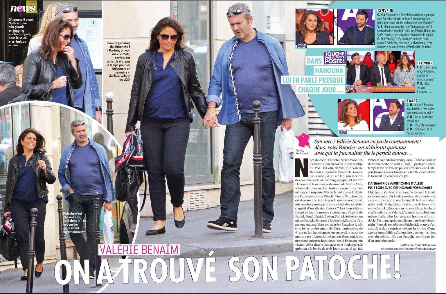 Le visage de Patoche dévoilé dans Closer ! Les images ici ...