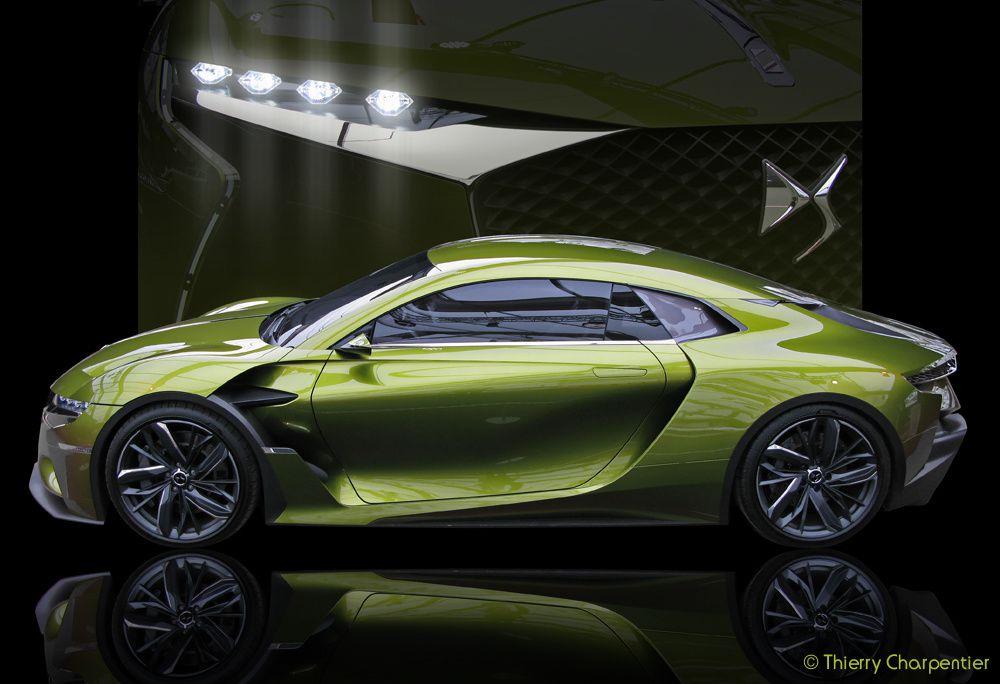 Exposition des Concept-Cars aux Invalides 2017