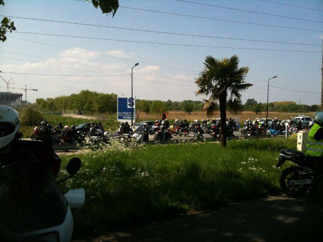 12-04-2014 Manif Moto contre les 80Km/H