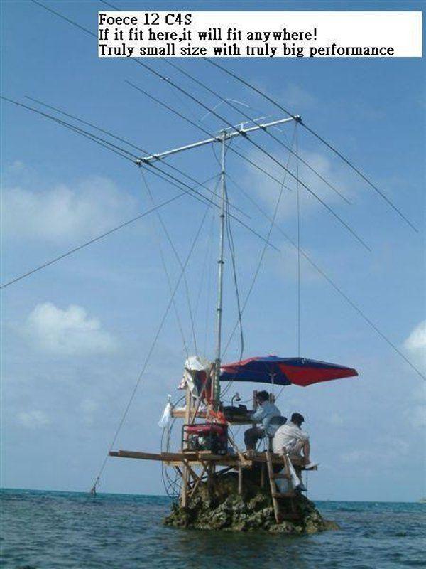 Expédition Radioamateur (Photo du jour)