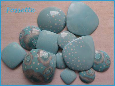 Ribambelle de couleurs : le bleu clair