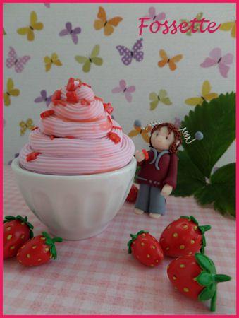 Desserts à la fraise