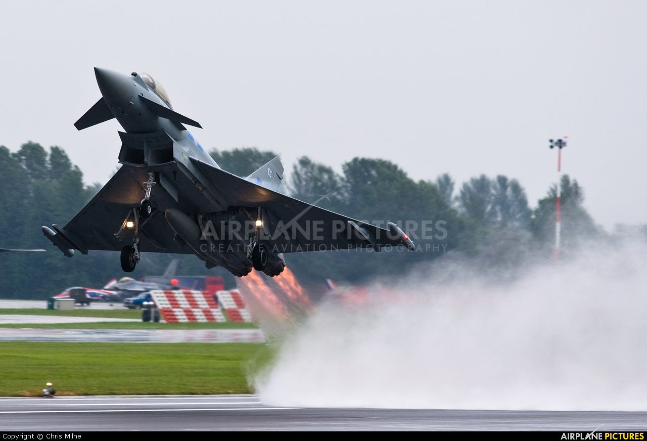 EUROFIGHTER Typhoon from Royal Air Force.