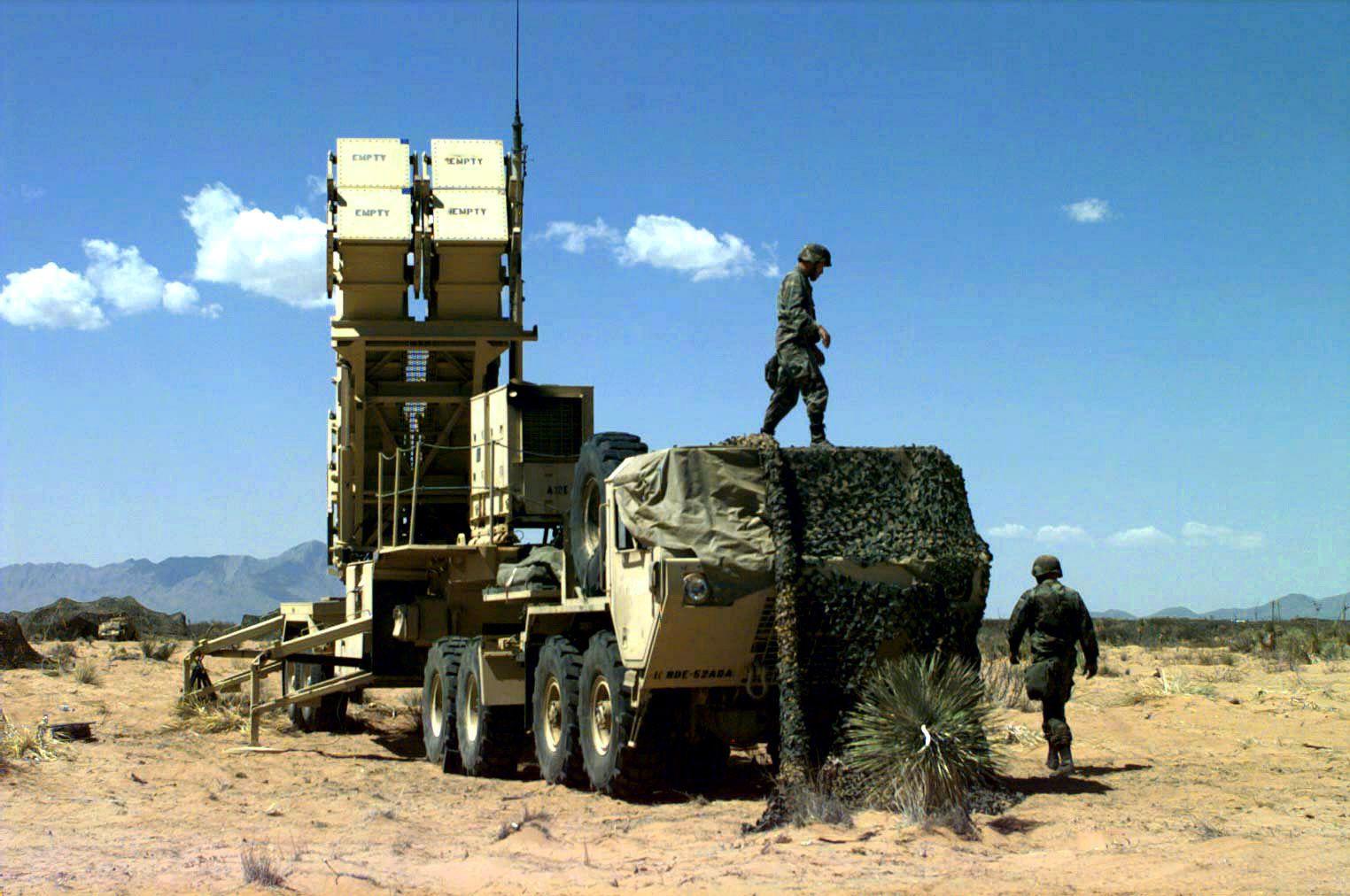 Système de missile sol-air à moyenne portée MIM-104 Patriot