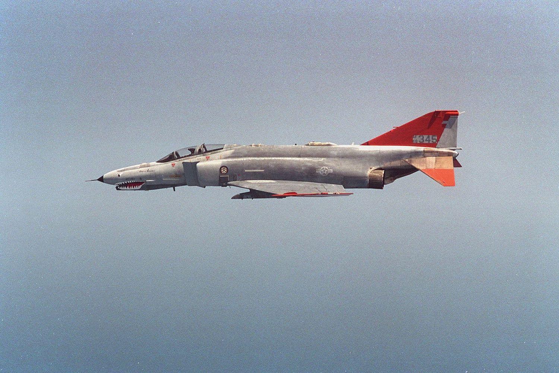 Un QF-4 s'écrase en Floride