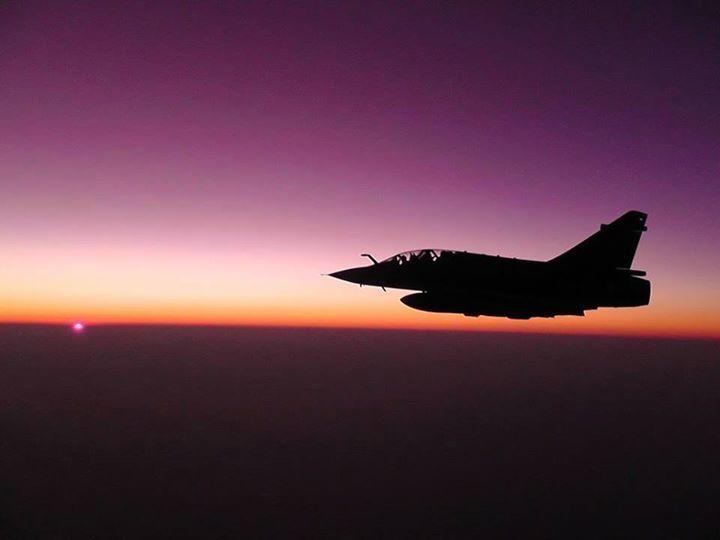 Témoignage : Une collision entre deux Mirage 2000N évitée.