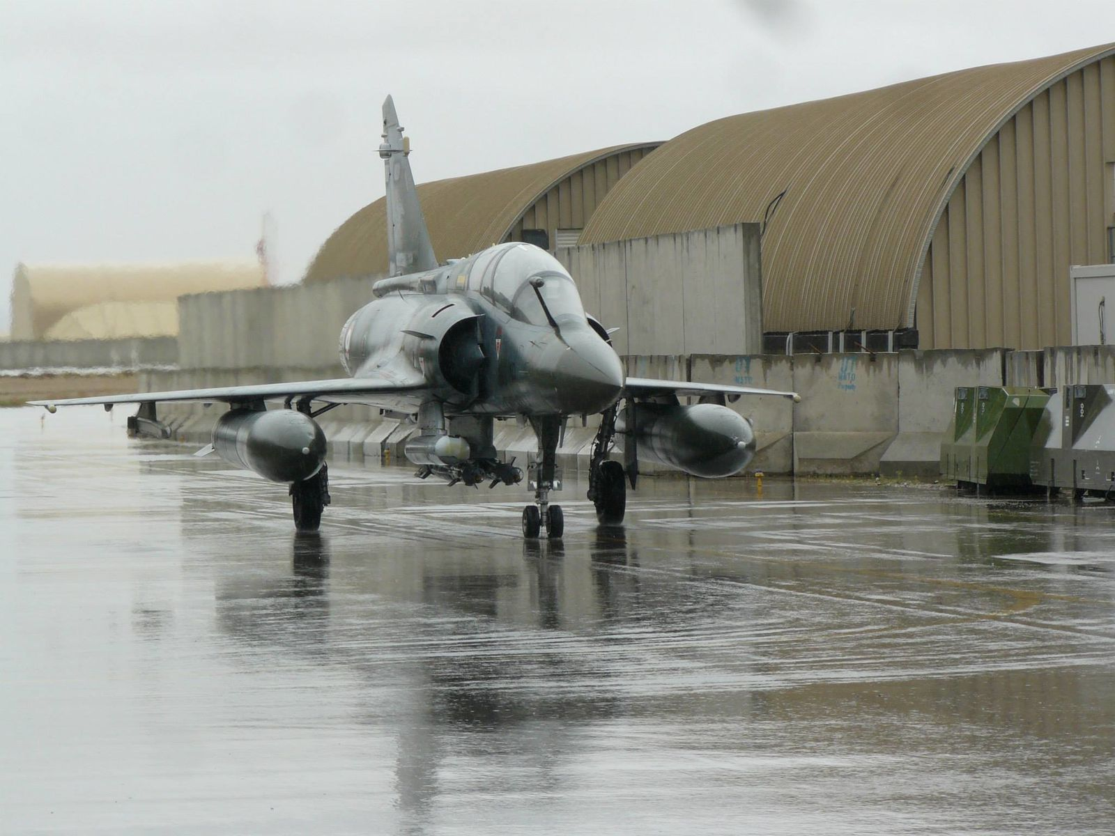 Et oui, même à Kandahar (Afghanistan) il pleut !