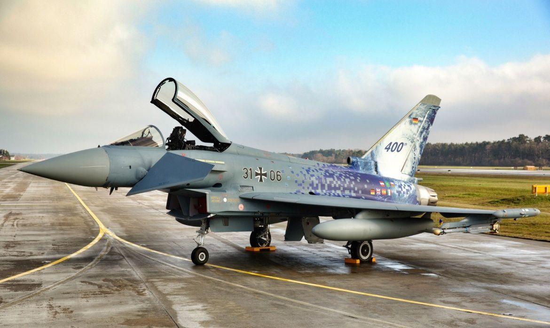 Le 400è Typhoon livré à l'Armée de l'Air allemande