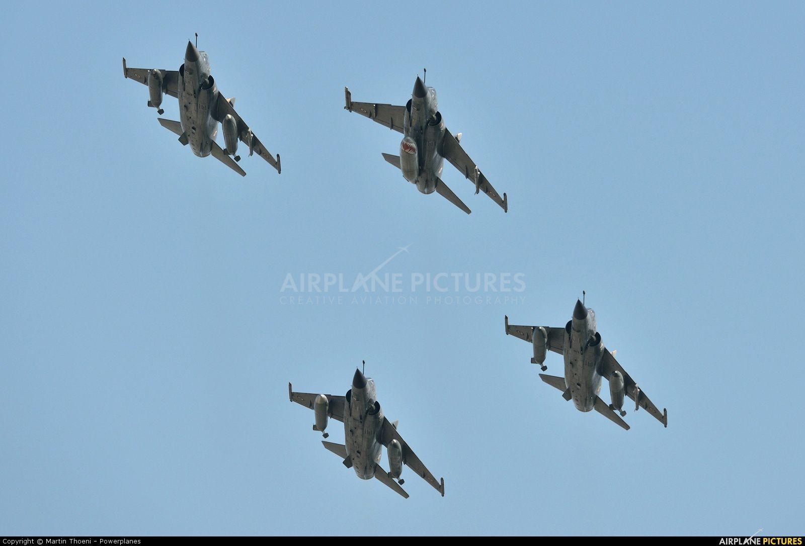 Reportage photos - Des Mirage F1-CR en Suisse pour faire un dernier adieu