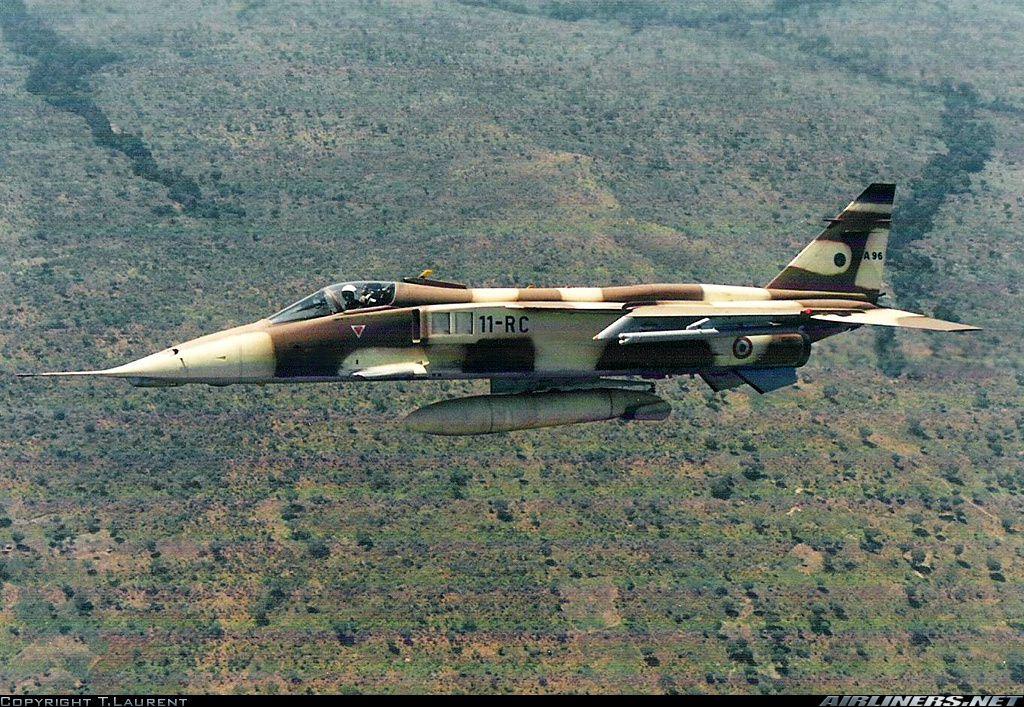 [Photo] - Il y a 26 ans, les Jaguar français survolaient la Centrafrique