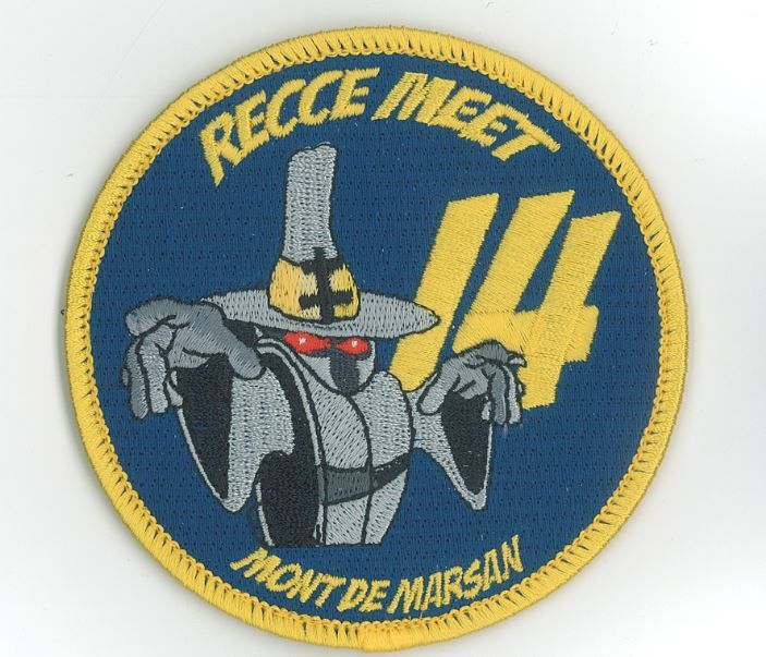 Le patch confectionné à l'occasion du Recce Meet 2014.