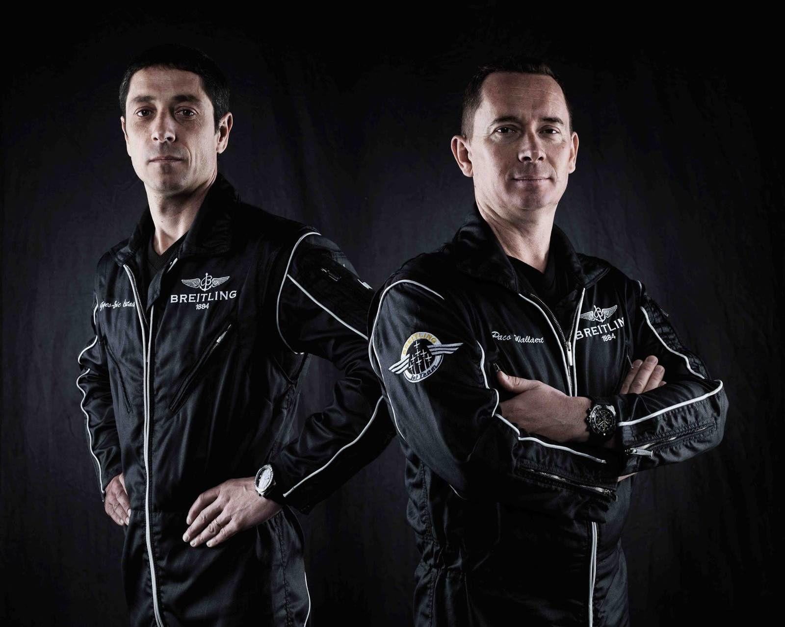 Deux anciens pilotes de la Patrouille de France intègrent la Breitling Jet Team