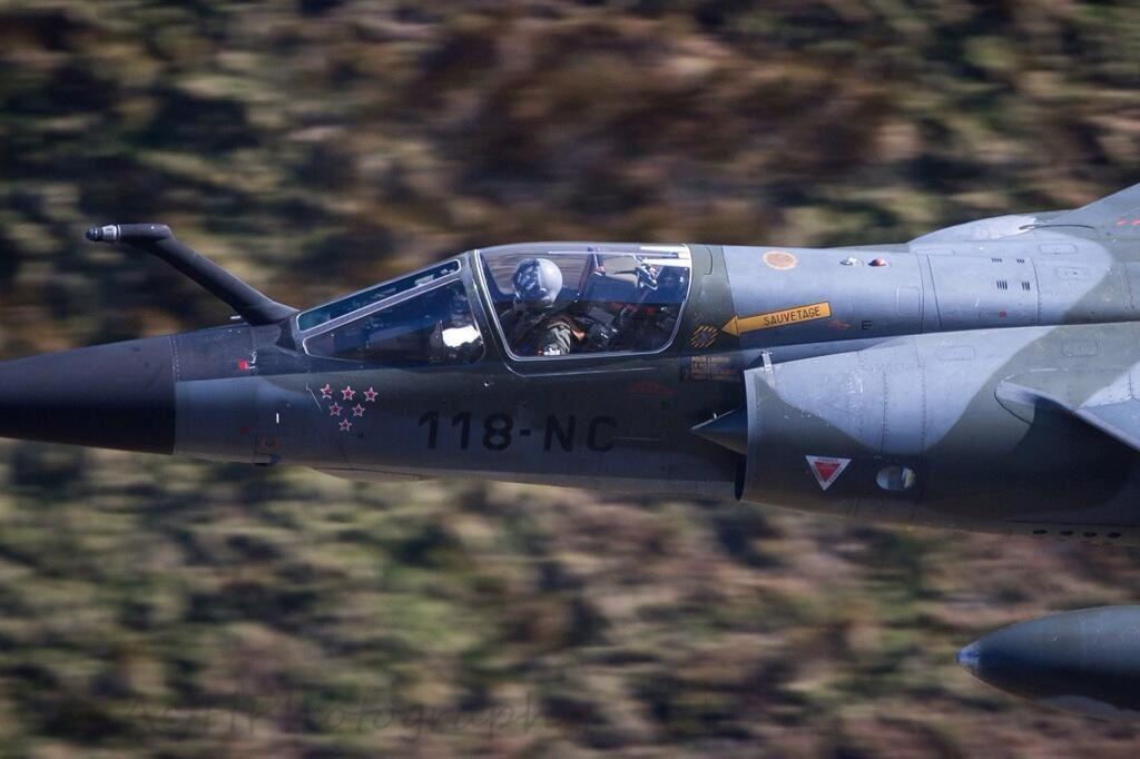 Des Mirage F1-CR en Angleterre pour faire un dernier adieu