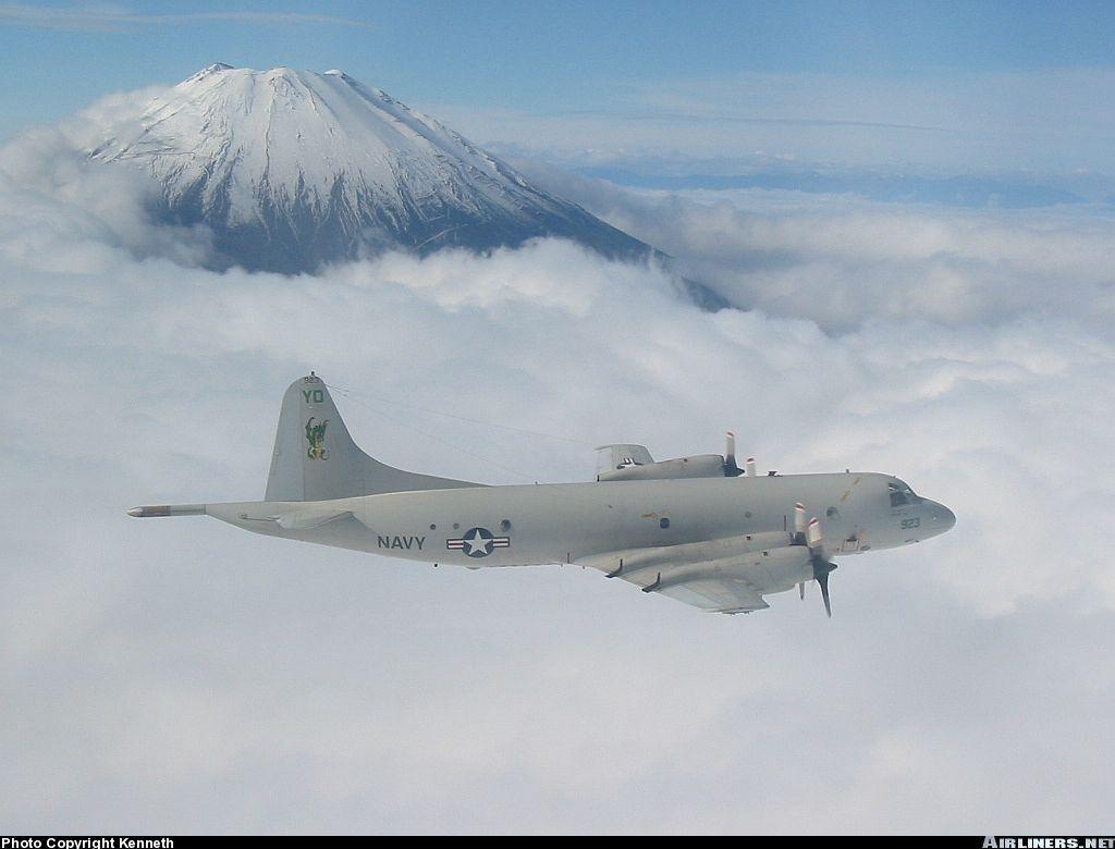 Trois P-3C Orion retirés du service après l'effondrement du toit de leur hangar