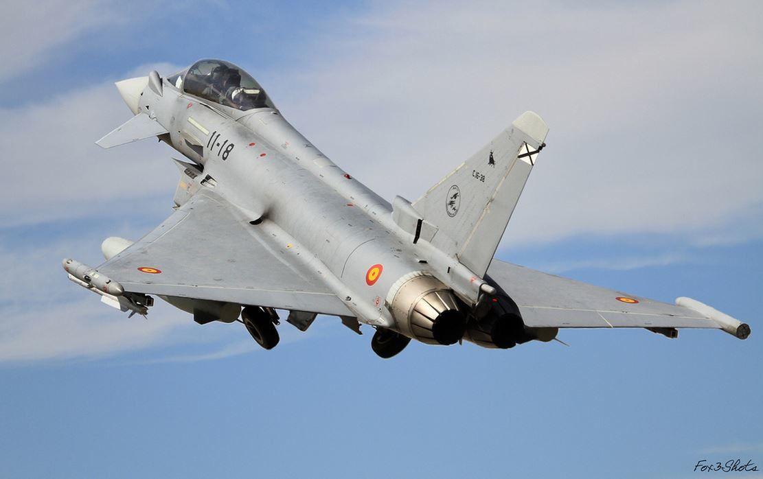 L'Espagne devrait envoyer quatre Eurofighter Typhoon en Ukraine