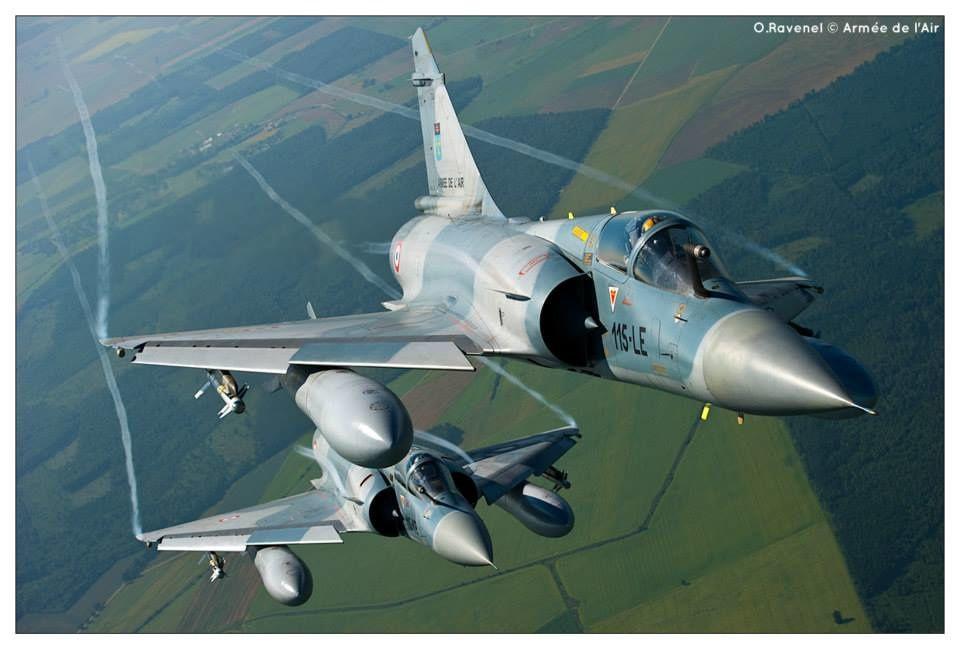 """L'Escadron de Chasse 2/5 """"Ile de France"""" arrive sur Facebook."""
