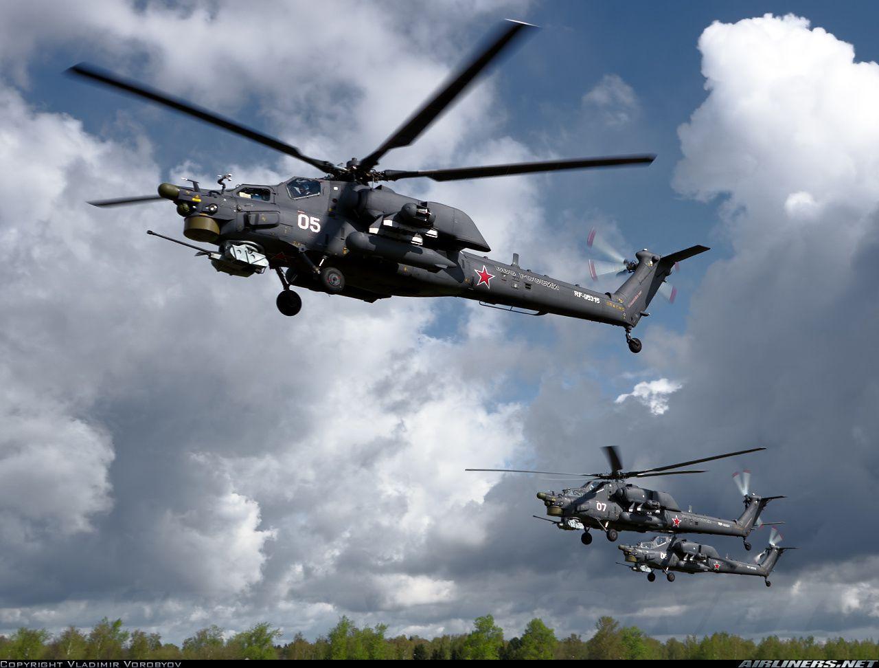 Des hélicoptères Mil Mi-24 et Mi-28 supplémentaires reçus par l'Irak