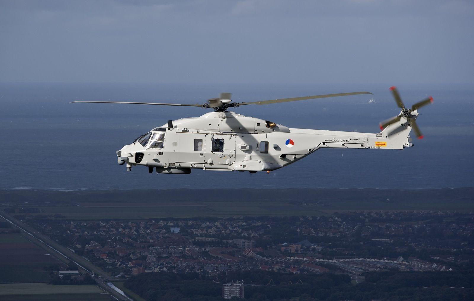 Les Pays-Bas ne veulent pas réceptionner leurs futurs NH-90