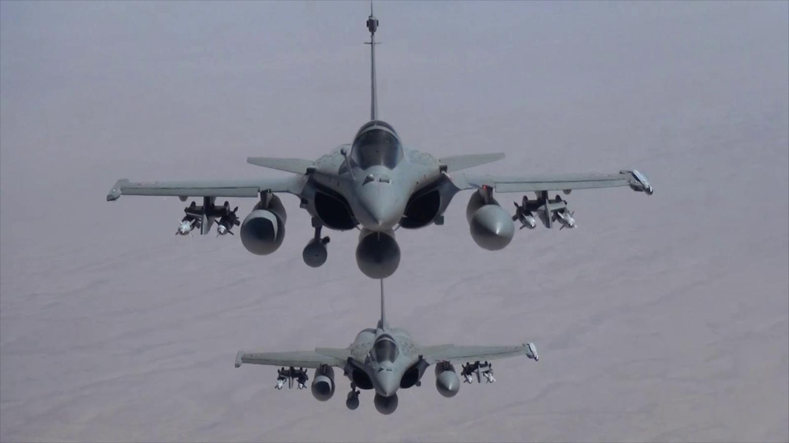 Photos + vidéo : Les forces françaises frappent l'Etat Islamique en Irak
