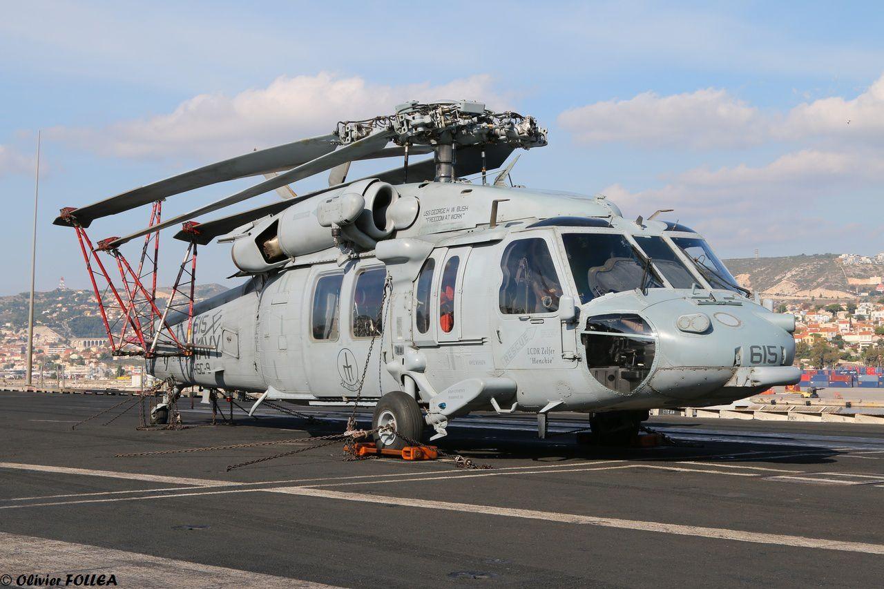 Photos : Visite du porte-avions américain USS George H.W. Bush en escale à Marseille