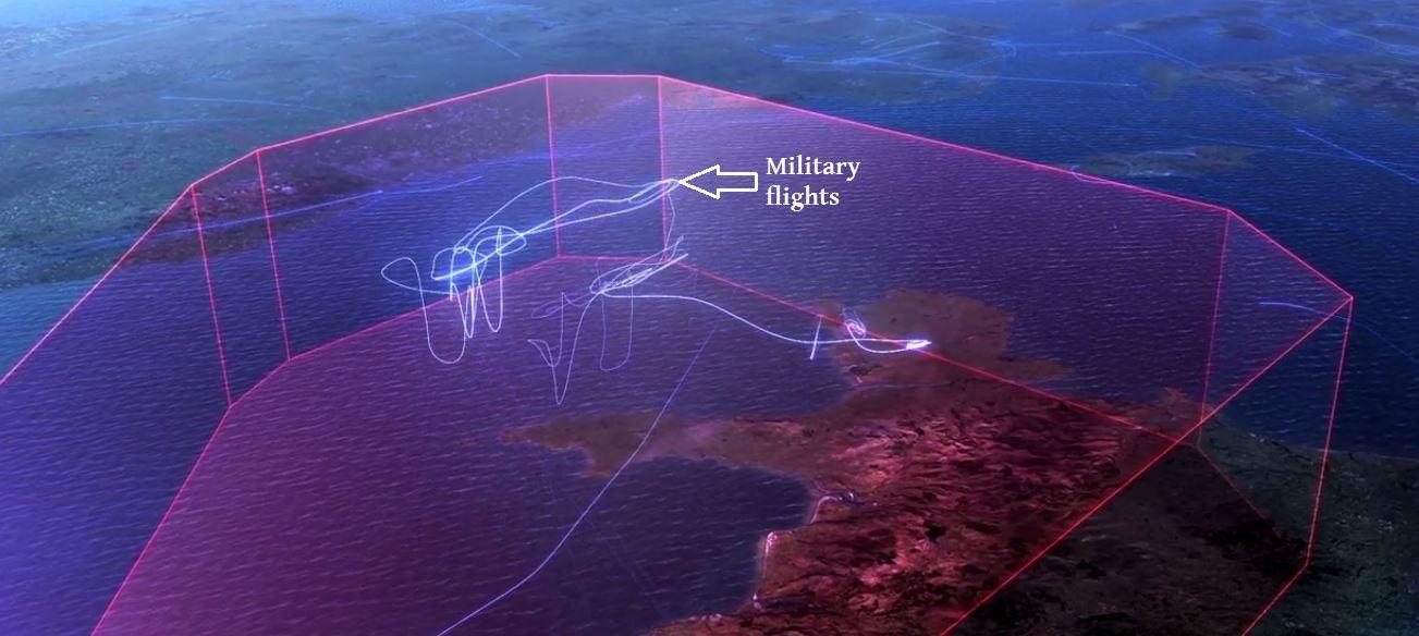VIDEO - Observez les vols des avions de chasse britanniques au sein de l'espace aérien anglais