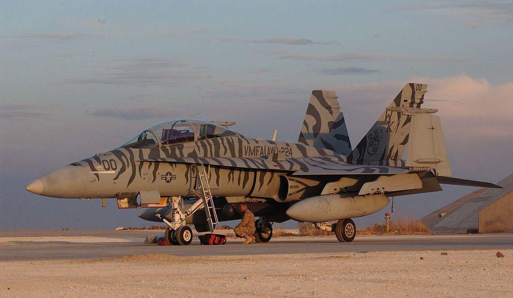 L'US Marine Corps perd un F/A-18D Hornet lors d'un exercice